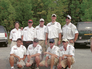 2002 Big Ten Classic Champs - The Purdue Bass Club, Advised by Rick Hendrickson.