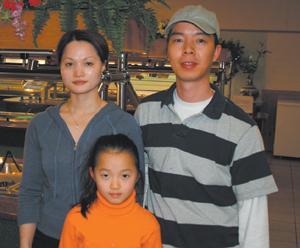Helen, Jenny and Cheng Zheng