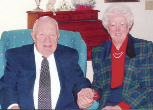 Robert and Clara Wolfe are celebrating their 60th wedding anniversary.