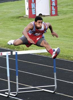 Devon Stone of Wayne High School Track 2012