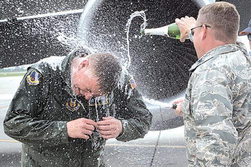 Colonel Schwartz retirement