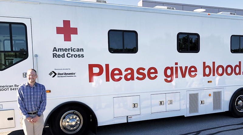 """FUNDING THE STATE-OF-THE-ART RED CROSS """"BLOODMOBILE"""""""