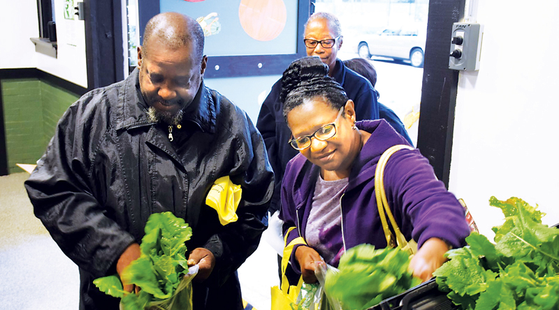 SERVING FOOD DESERT RESIDENTS WITH FRESH PRODUCE