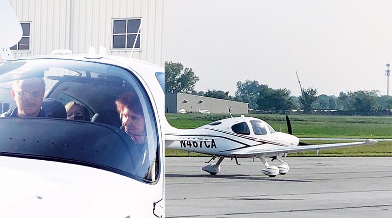 SENIOR TAKES FLIGHT ONCE MORE
