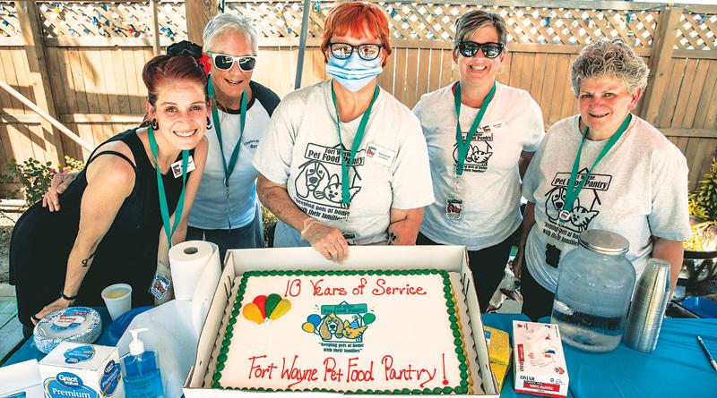 FORT WAYNE PET FOOD PANTRY  CELEBRATES 10 YEARS!