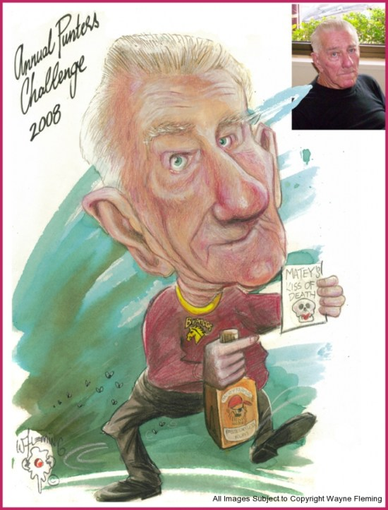 Caricatures Royal Mail Hotel