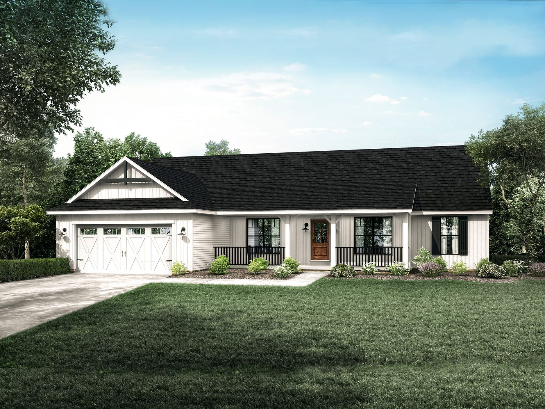 Popular Ranch Style Floor Plans: The Montgomery