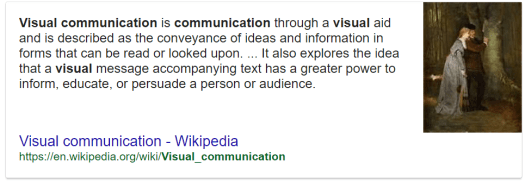 Visual Communication