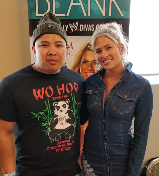 Wayne Lapasa with Kelly Kelly