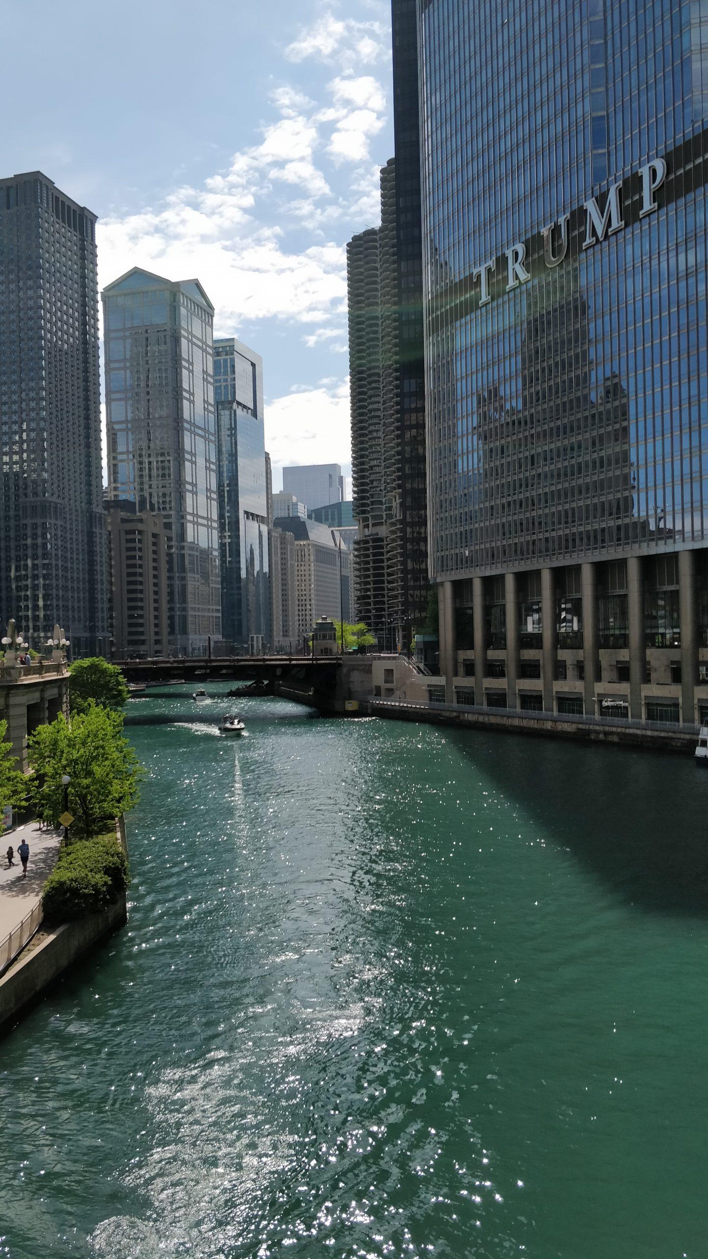 Chicago Riverwalk views