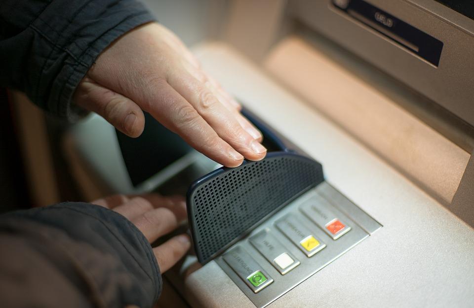 ATM現金の出金