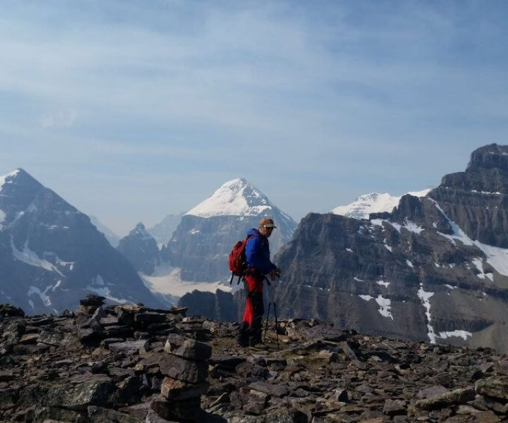 Ron Dart, amongst many scholarly pursuits and prolific writing, is an enthusiastic mountaineer!