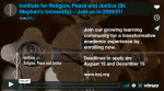 Restorative Justice: Peacemaking NOT Warmaking