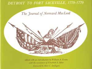 Detroit to Fort Sackville, 1778-1779: The Journal of Normand MacLeod Image