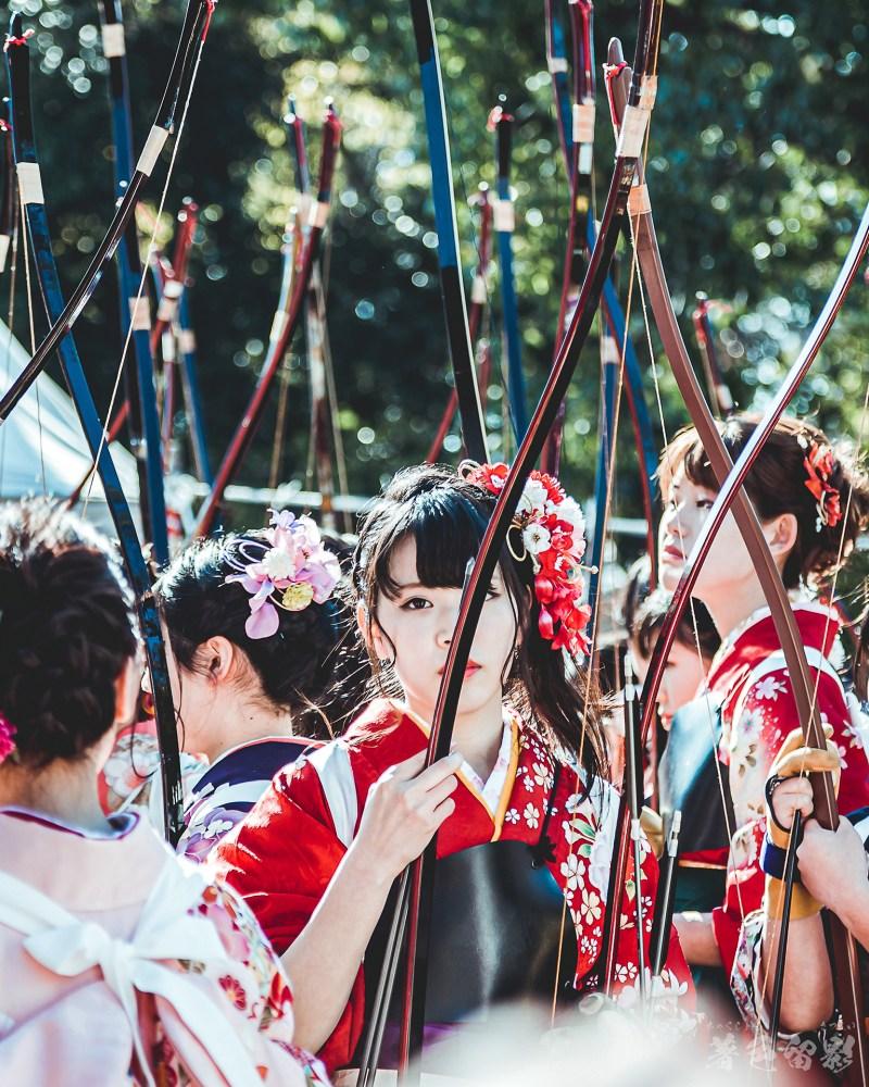 京都三十三間堂通し矢