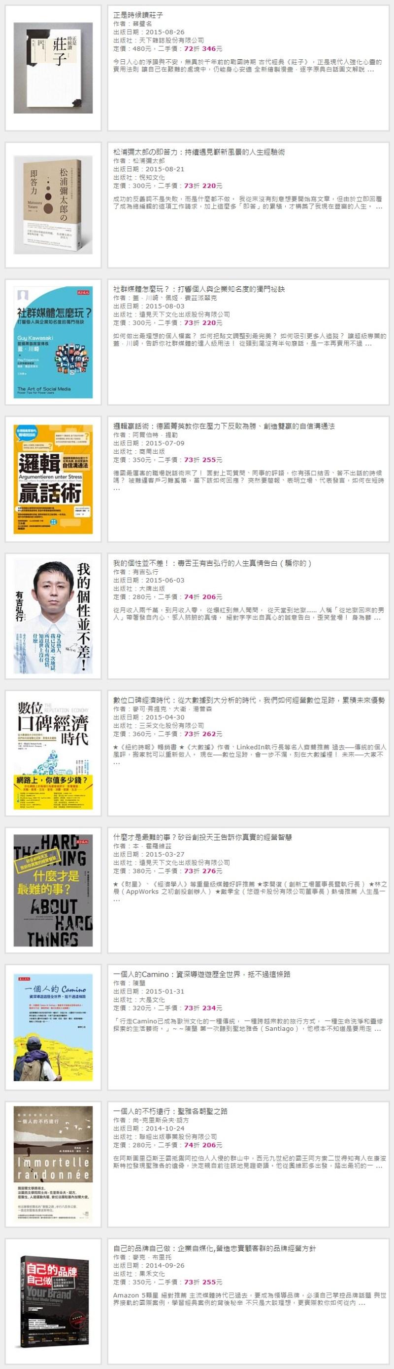 FireShot Capture 036 TAAZE 讀冊生活|二手書店|Wayne www.taaze .tw