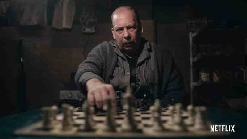 Mr. Shaibel Bill Camp The Queens Gambit scaled 1