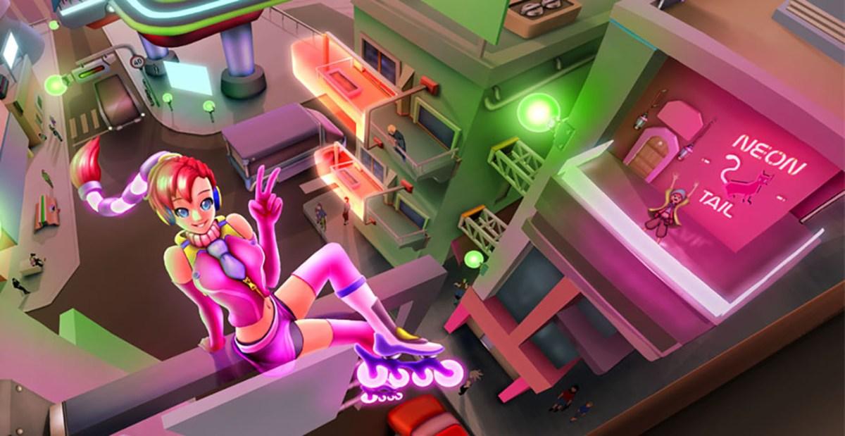獨立遊戲《霓虹之尾 / Neon Tail》開發團隊「Rocket Juice Games」專訪