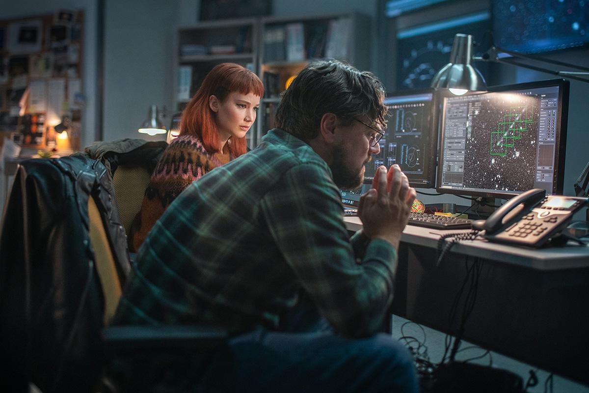 Netflix 12 月電影《千萬別抬頭》公佈預告,李奧納多·狄卡皮歐能否拯救地球?