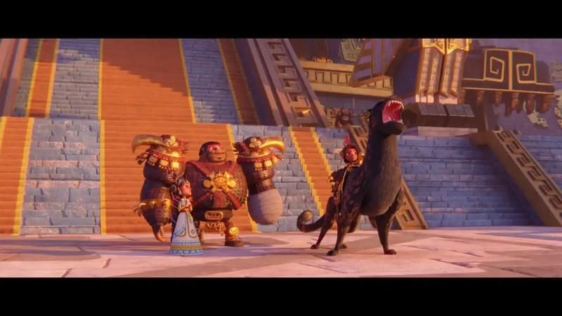 Maya and the Three 5