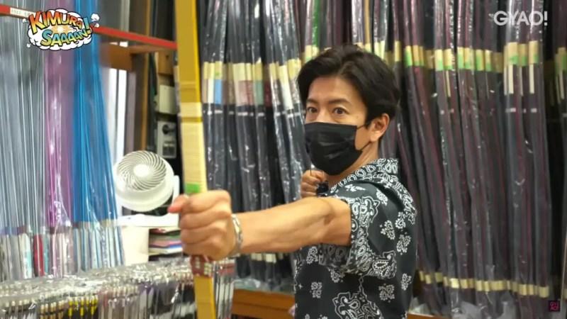 木村拓哉練弓道!買什麼才能和木村大神使用同款弓具?