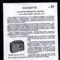 1961 Vintage Transistor Radio