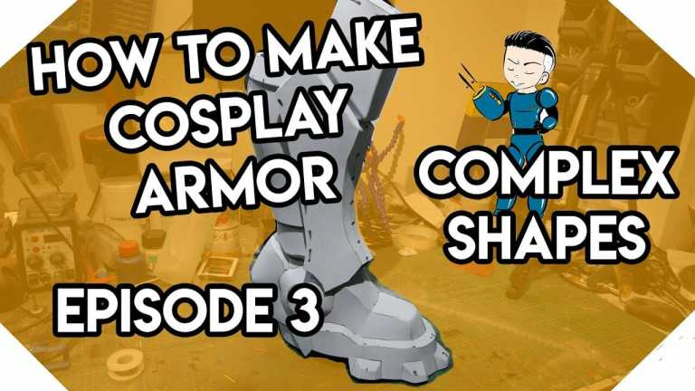 YouTube How To Make Cosplay Armor Episode