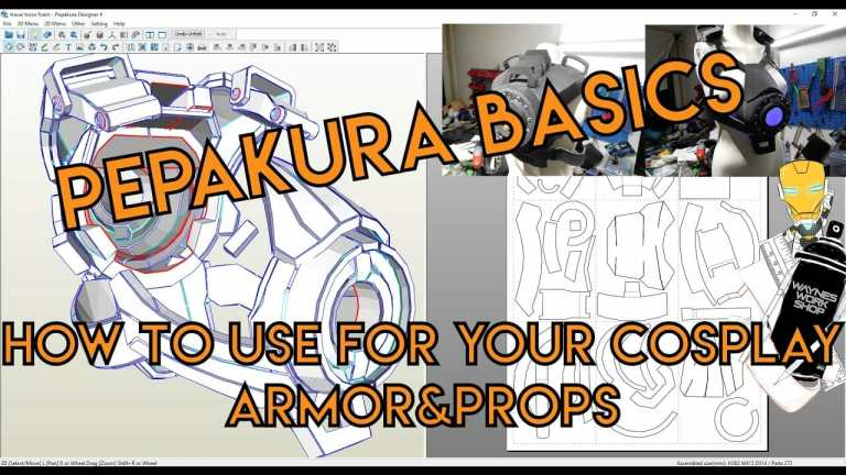 YouTube Pepakura Basics How To Use For Your
