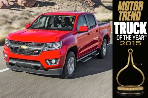 2015 Chevrolet Colorado Crew Cab 3LT Z51