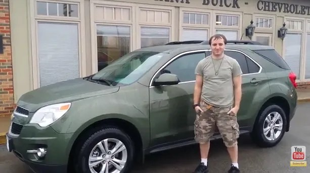 2015 Chevrolet Equinox Sea Grass