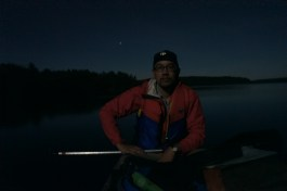 Big Trout Lake after midnight