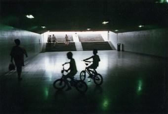 Bicycles in subway in Bejing