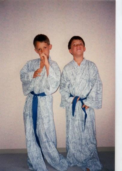 Kimono duo
