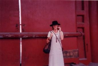 Red door and Marilyn