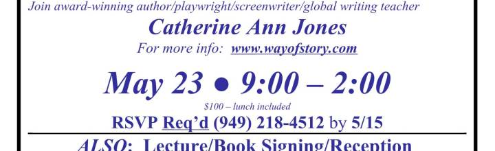 The Way of Story in San Juan Capistrano, Sat, May 23