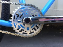 2017 SE Racing Quad Chainring Detail