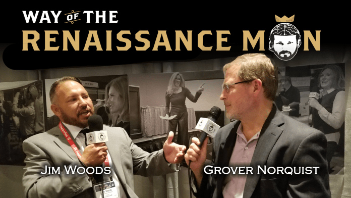 grover norquist on way of the renaissance man starring jim woods