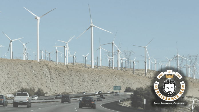 Green New Deal, Wind Farms, Desert Inspiration Featuring Jim Woods