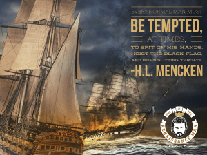 h l mencken quote on rebellion from way of the renaissance man jim woods