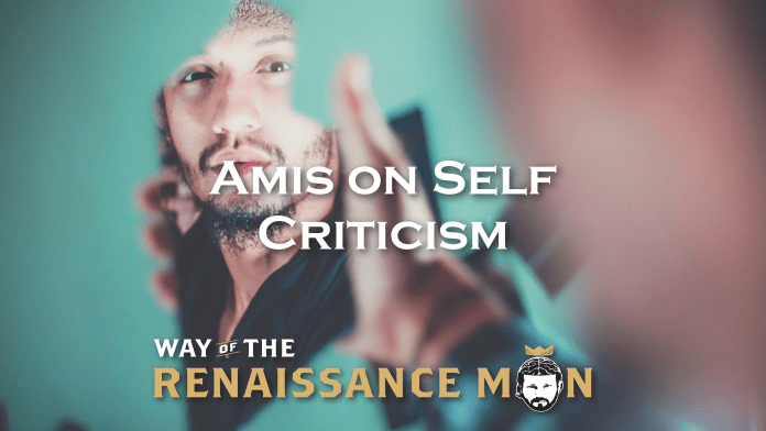 Amis on Self Criticism from Way Of The Renaissance Man Starring Jim Woods