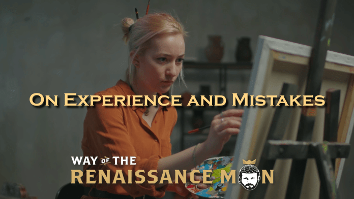 On Experience and Mistakes Oscar Wilde Title Way of the Renaissance Man Starring Jim Woods