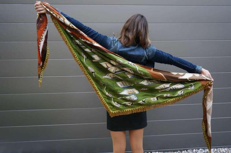 Foulard en soie vintage 5 (Comp)
