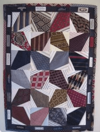 inspiration upcycling cravates tapis