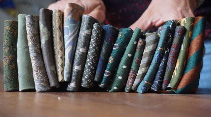 Wayome Upcycling des cravates et encore des cravates image une