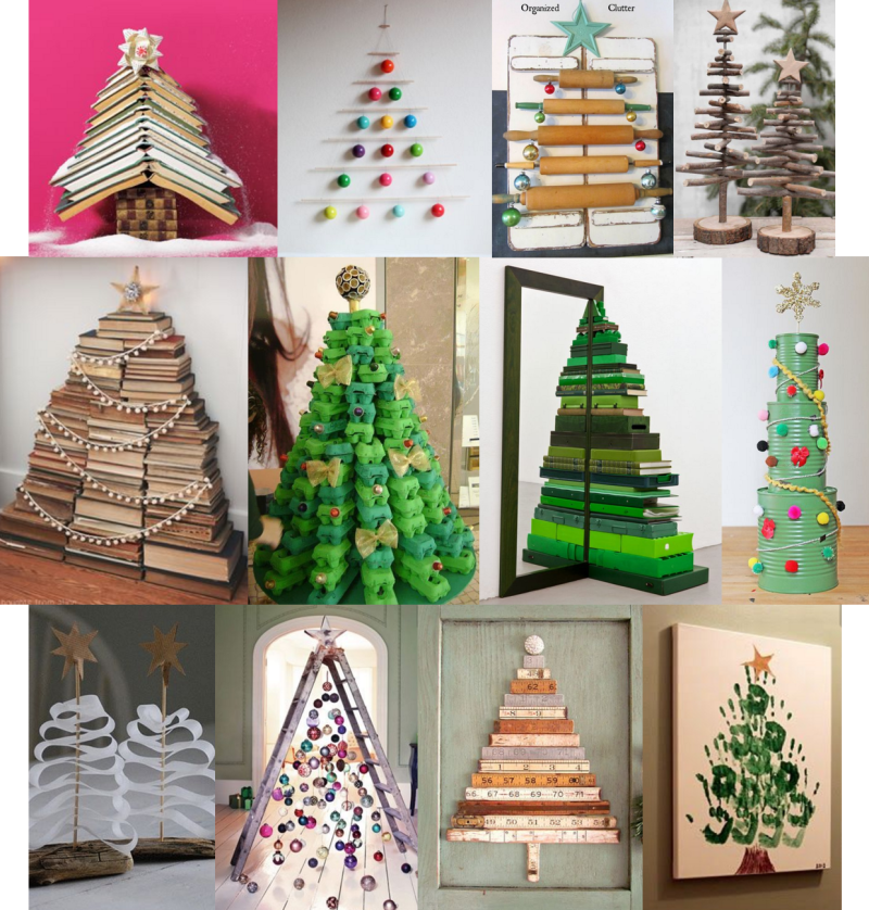 Wayome Upcycling upcycling de noel sapins