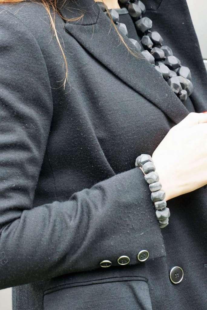 Wayome Upcycling une parure en corne zoom bracelet