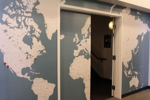 The Office Location Map
