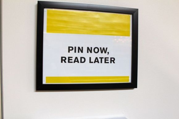 Pin Now, Read Later