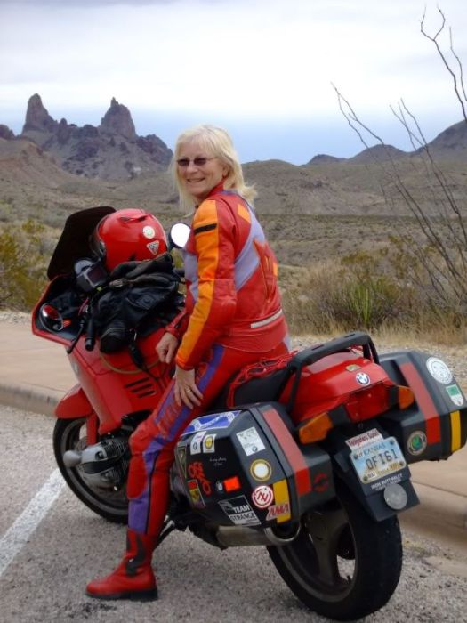 Stench from America traveled over a million miles on a motorcycle in my entire life.