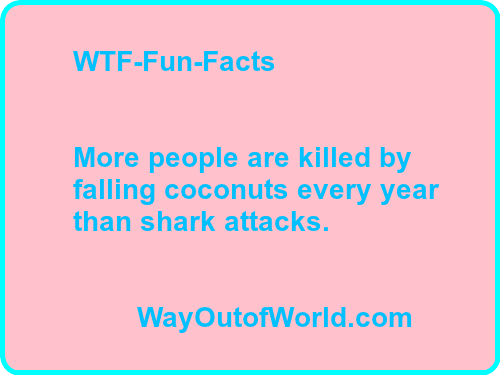 20 WTF-Fun-Facts For You